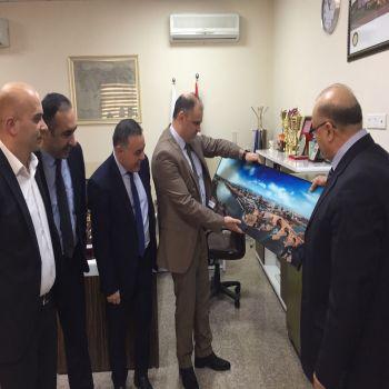 A delegation from Zakho University visited Cihan University-Duhok