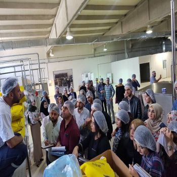 Accounting Department students visits Alhamid factory/ Bereket