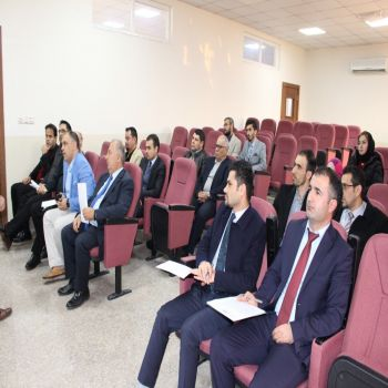 A seminar by Assistant Lecturer Mohammad Amin S. Mourad