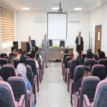President of Cihan University - Duhok welcomes the new students