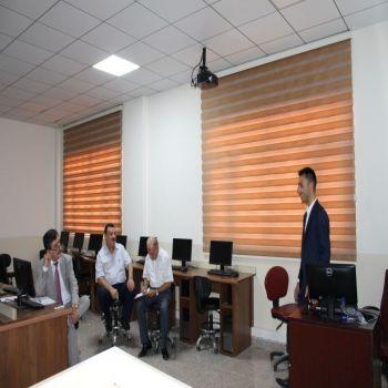 A seminar was held by Asst Lecturer Khiyas Dewali