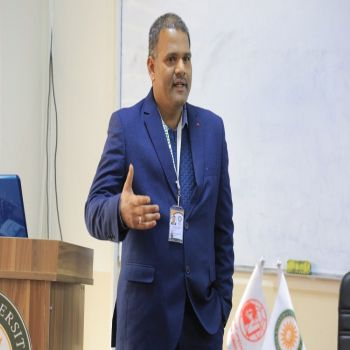 "Dr.D.Yuvaraj Delivered a seminar entitled ""Academic Publication: Insight Google Scholar"""