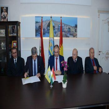 Memorandum of Understanding between Cihan University - Duhok and University of Zakho