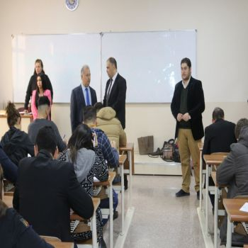 The final examination of the first semester at Cihan University- Duhok were carried out