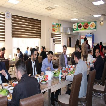 The management and administration of Cihan University- Duhok held some activities and created a pleasant atmosphere for the university staff