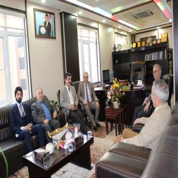 A delegation from Cihan University-Duhok visited Newroz University