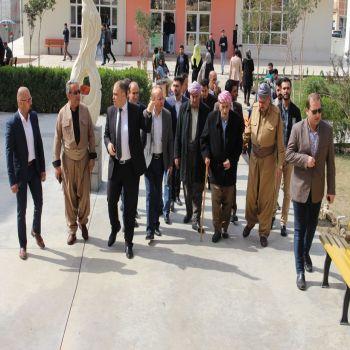 The character and charisma of Mulla Mustafa Barzani was discussed at Chian University-Duhok
