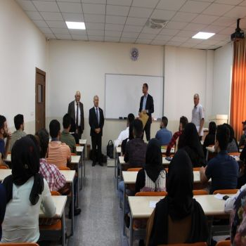 The Final examination of the Second semester 2017 - 2018 at Cihan University- Duhok were carried out