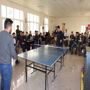 The Conclusion of Ping-Pong Championship at Cihan University - Duhok