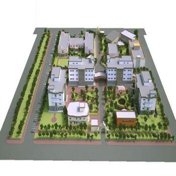 Master Plan of Cihan University - Duhok