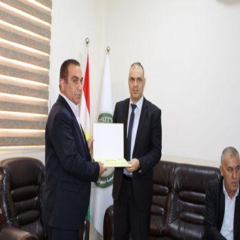Cihan University-Duhok Honors Athletic Clubs in Duhok