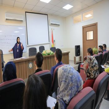 The Employees of Cihan Univeristy - Duhok participating on English Training Course