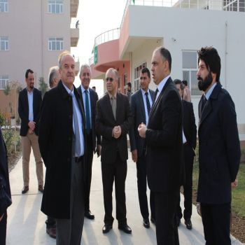 A delegation from the Zanist Local Committee of Kurdistan Democratic Party visited Cihan University-Duhok