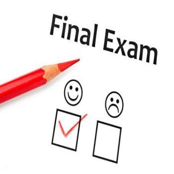 Announcement of the Final Exam Schedule first semester 2019 - 2020