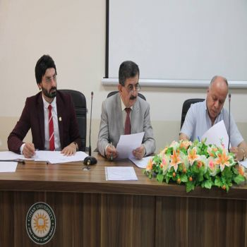 Teaching staff interview are conducted by Cihan University - Duhok