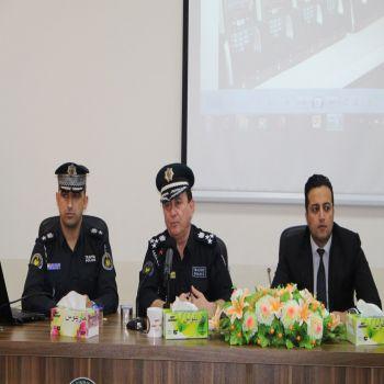A seminar was held by the directory of Duhok Traffic at the Cihan University - Duhok
