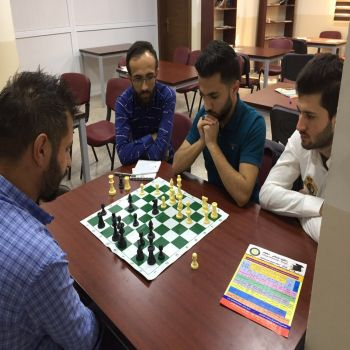 Chess Championship at Cihan University - Duhok