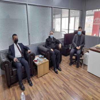 Dr. Zeravan Abdulmuhsen Asaad meeting with cihan motors and cihan college school