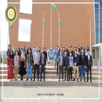 Computer Science Students' Scientific Visit to the General Director of Police in Duhok Governorate