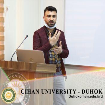 سمینارەک بۆ بەرێز (شڤان عبدالوهاب محمد) ل دۆر گەنگەشەکرن و شروڤەکرنا کورسێ (پێناسەک بۆ تورا CCNA1) پروگرامێ ئەکادیمیا سیسکو
