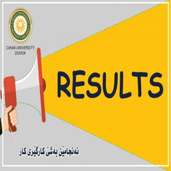 Exam results (second course, first round) Department of Business Administration (First Year)