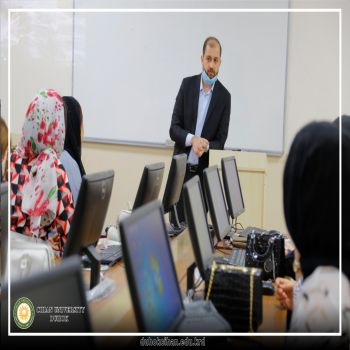 The computer and modern technology course continues at Cihan University - Duhok: