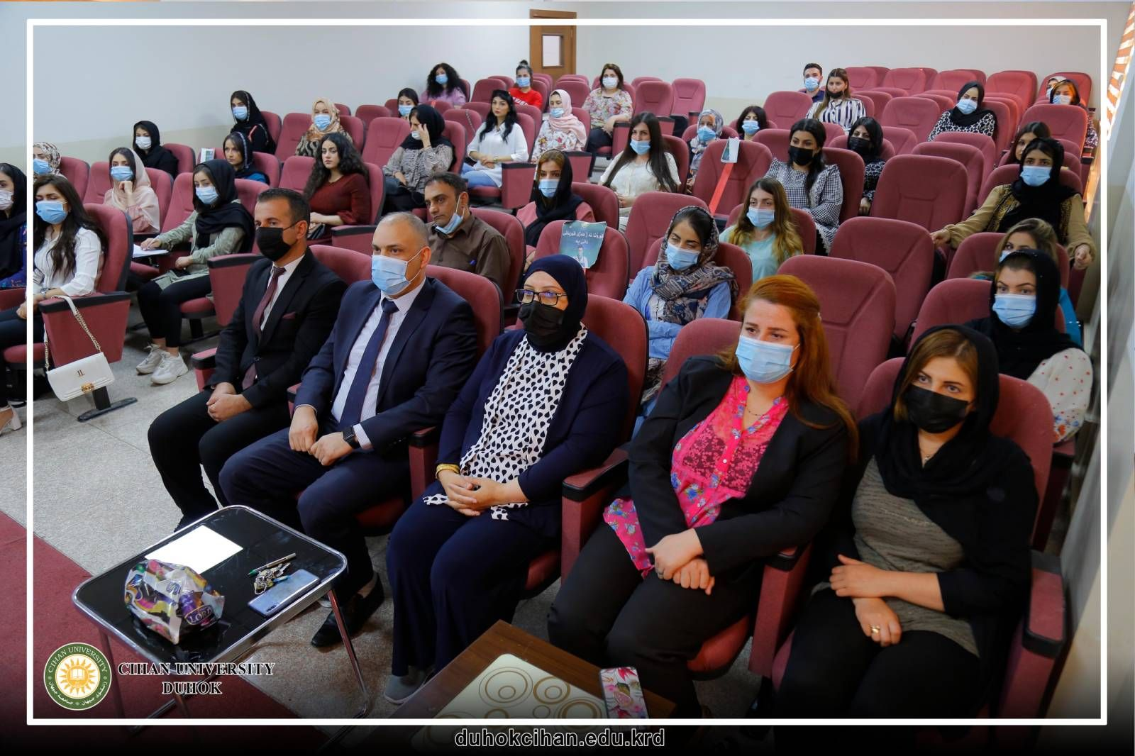 The participation of (30) university and institute graduates in a course opened by Cihan University - Duhok.