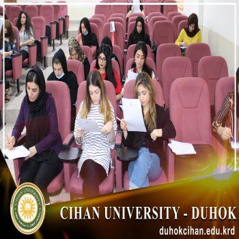 Starting a CV strengthening course at Cihan University - Duhok