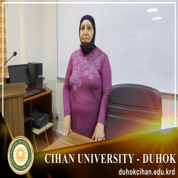 Starting a CV strengthening course at Cihan University - Duhok.