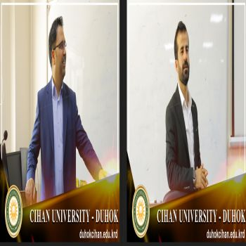 A workshop was presented to Cihan University - Duhok employees included two sections