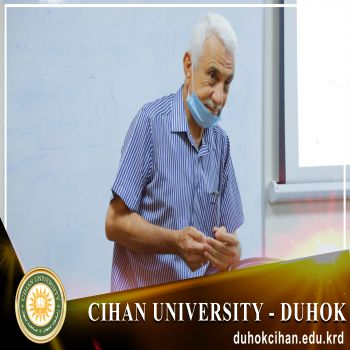 A seminar entitled (Human Development in Iraq)