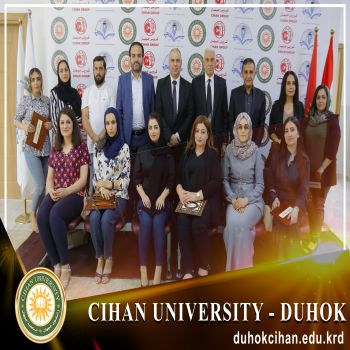 Completion of a training course entitled (Economic Culture -Preparation of an Economic Feasibility Study) at Cihan University - Duhok.
