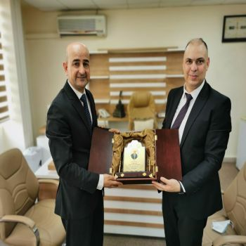 The visit of a delegation from Cihan University - Duhok to the Ministry of Higher Education and Scientific Research