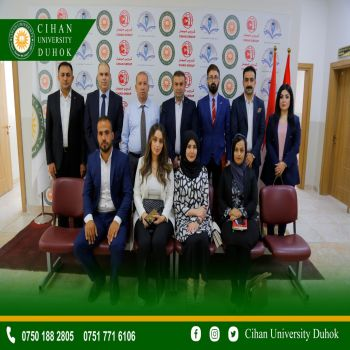 Cihan University - Duhok and the development of relations between institutions of higher education and education