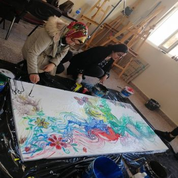 A painting training course