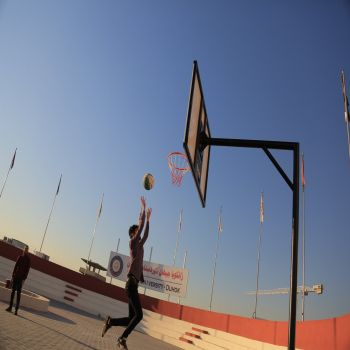 A basketball championship at cihan university - duhok
