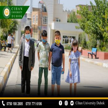 50 children received a certificate of participation in a course held at Cihan University - Duhok