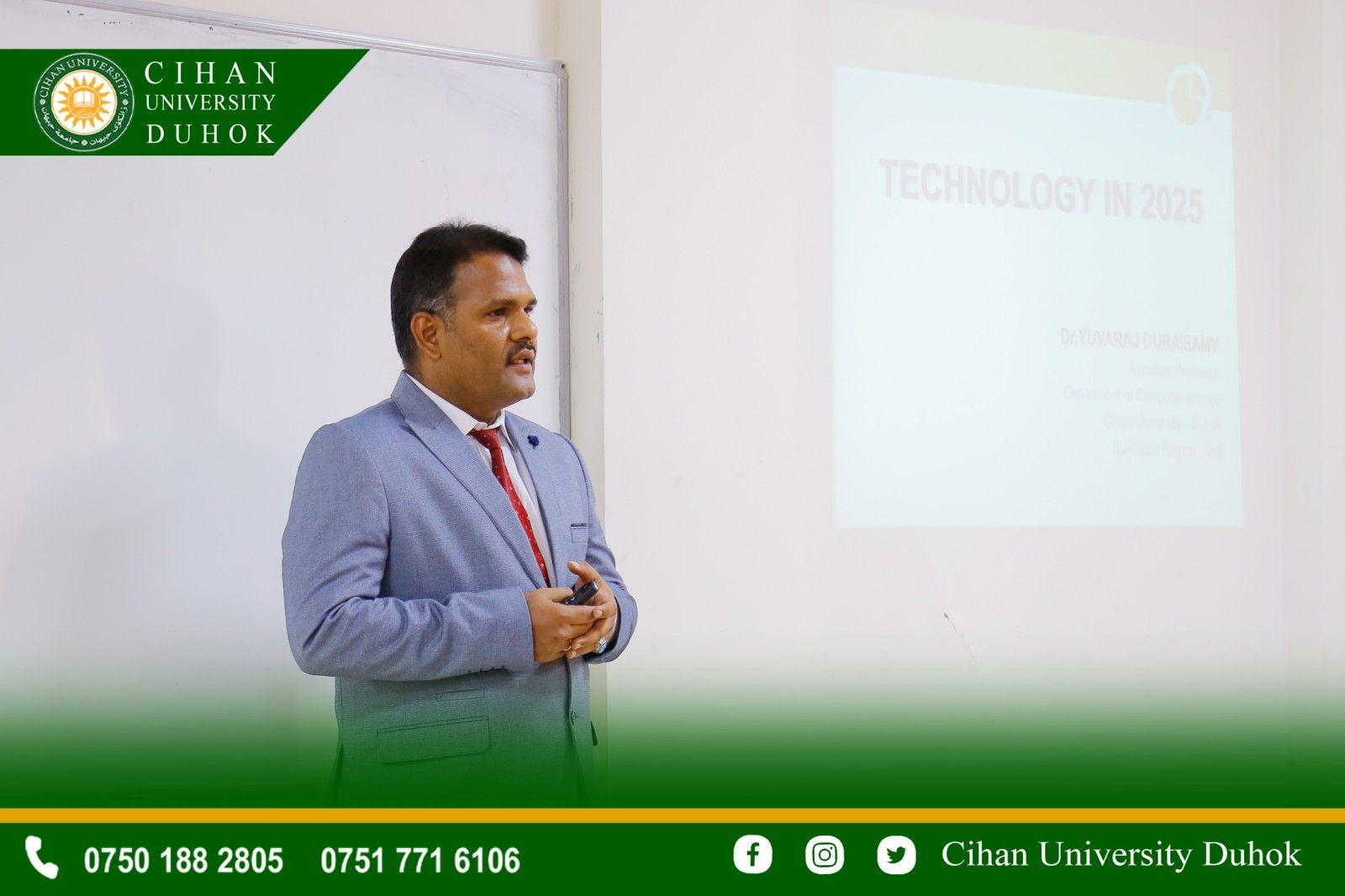 جامعة جيهان -دهوك والاهتمام بقدرات العلمية والاكاديمية للاساتذة
