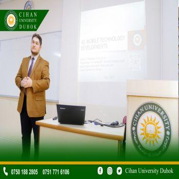 A seminar entitled (4G Mobile Technology Developments)