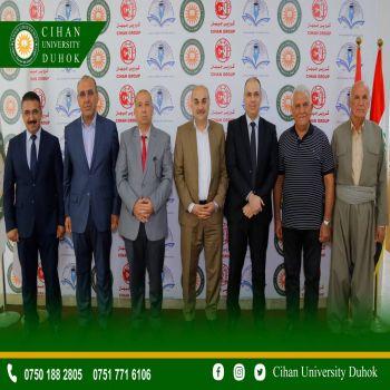 The delegation of the secretariat of the Kurdistan Teachers Union was received