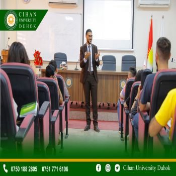 a workshop was held for 60 students from the Department of English at Cihan University - Duhok