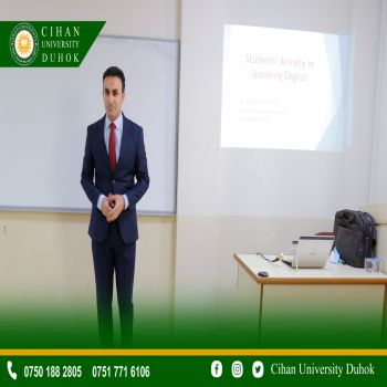 A seminar entitled : Students' Anxiety in Speaking English