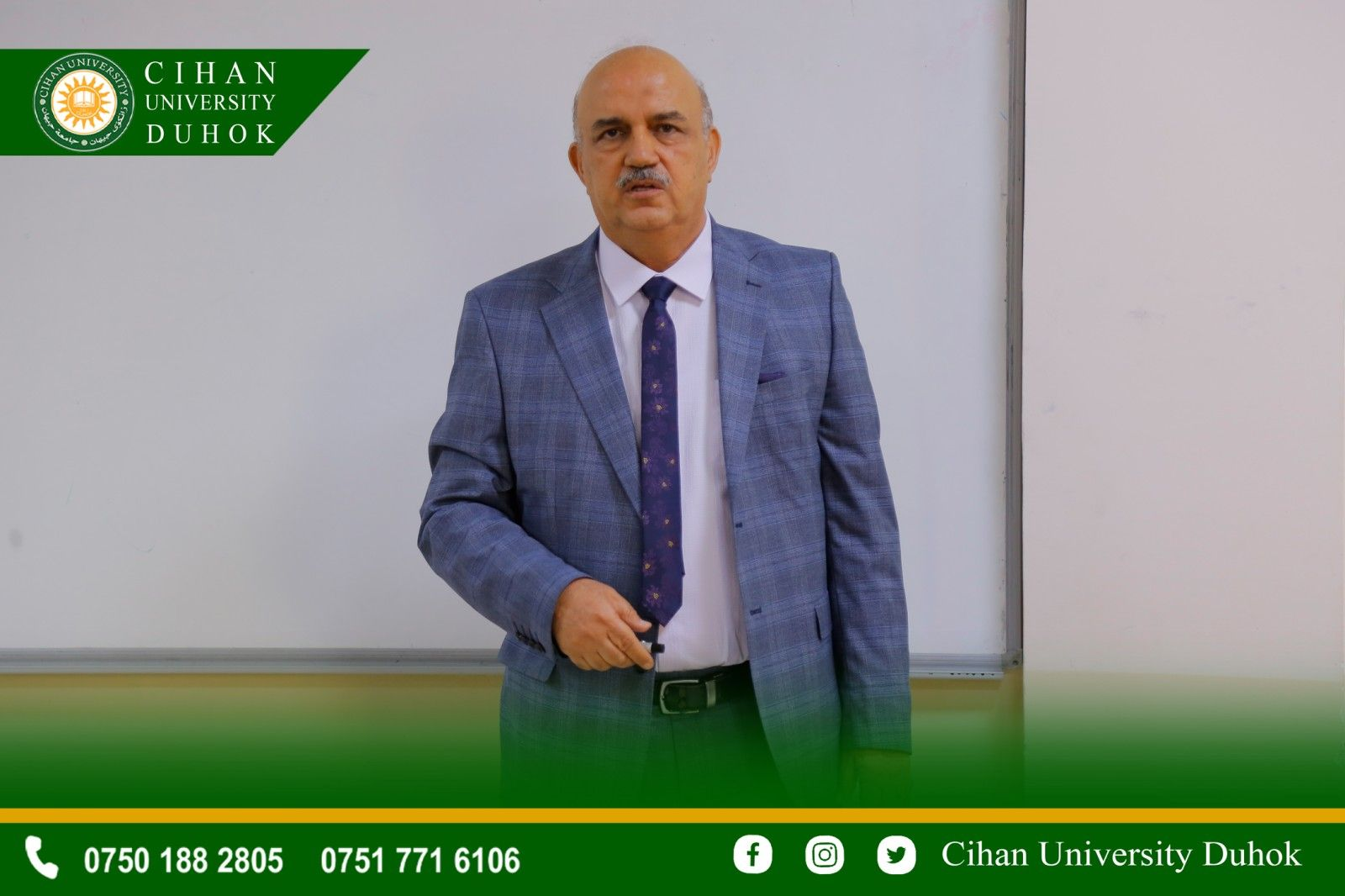 a seminar was presented entitled : Prediction of Environmental Pollution Using Box_Jenkins Models for Al-Waziriyah Station in The city of Baghdad