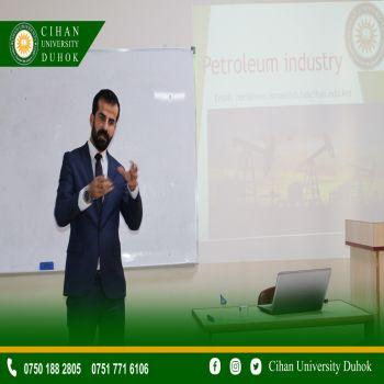 A seminar entitled : Petroleum industry